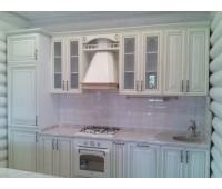 Кухня с фасадами Массив ДУБА, размер 3000 мм.