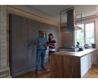 Кухня Акриловый пластик, размер 3000*2170*3000 мм.