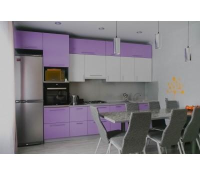 Кухня с фасадами МДФ Пластик