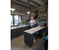 Кухня с фасадами МДФ Плёнка