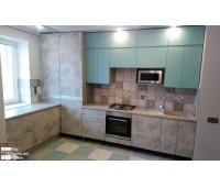 Кухня с фасадами МДФ Эмаль 6043