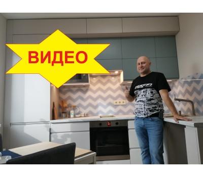Кухня с фасадами МДФ Плёнка 3
